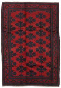 Beludż Dywan 182X260 Orientalny Tkany Ręcznie Czarny/Czerwony (Wełna, Afganistan)