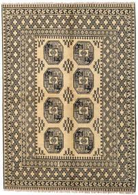 Afgan Dywan 170X230 Orientalny Tkany Ręcznie Ciemnobeżowy/Jasnobrązowy (Wełna, Afganistan)