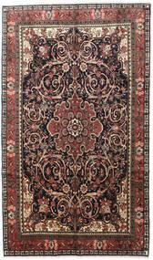 Bidżar Dywan 195X330 Orientalny Tkany Ręcznie Czarny/Jasnobrązowy (Wełna, Persja/Iran)