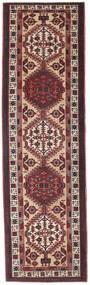 Sarab Patina Dywan 100X345 Orientalny Tkany Ręcznie Chodnik Ciemnobrązowy/Ciemnoczerwony (Wełna, Persja/Iran)