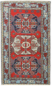 Ardabil Patina Dywan 118X196 Orientalny Tkany Ręcznie Ciemnoniebieski/Jasnobrązowy (Wełna, Persja/Iran)