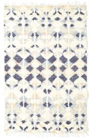 Barchi/Moroccan Berber - Indie Dywan 156X243 Nowoczesny Tkany Ręcznie Beżowy/Biały/Creme (Wełna, Indie)