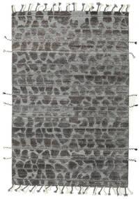 Barchi/Moroccan Berber - Indie Dywan 159X239 Nowoczesny Tkany Ręcznie Ciemnoszary/Jasnoszary (Wełna, Indie)