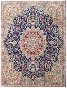 Kerman Patina Dywan 230X305 Orientalny Tkany Ręcznie Jasnoszary/Ciemnobeżowy (Wełna, Persja/Iran)