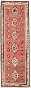 Kilim Fars Dywan 155X460 Orientalny Tkany Ręcznie Chodnik Ciemnoczerwony/Ciemnobrązowy (Wełna, Persja/Iran)