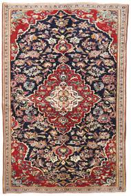 Jazd Dywan 145X220 Orientalny Tkany Ręcznie Ciemnofioletowy/Ciemnoczerwony (Wełna, Persja/Iran)
