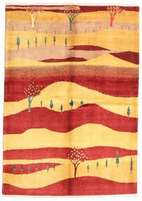 Gabbeh Kaszkuli Dywan 147X207 Nowoczesny Tkany Ręcznie Rdzawy/Czerwony/Jasnobrązowy (Wełna, Persja/Iran)