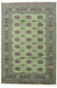 Pakistański Bucharski 2Ply Dywan 169X248 Orientalny Tkany Ręcznie Ciemnoszary/Zielony/Oliwkowy (Wełna, Pakistan)