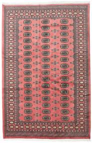 Pakistański Bucharski 2Ply Dywan 167X255 Orientalny Tkany Ręcznie Ciemnobrązowy/Jasnoróżowy (Wełna, Pakistan)