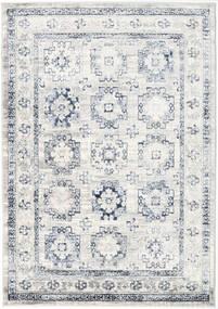 Menara Everyday - Szary/Niebieski Dywan 160X230 Nowoczesny Jasnoszary/Biały/Creme ( Turcja)