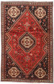 Sziraz Dywan 164X248 Orientalny Tkany Ręcznie Ciemnoczerwony/Ciemnobrązowy (Wełna, Persja/Iran)