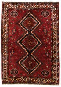 Kaszkaj Dywan 158X225 Orientalny Tkany Ręcznie Ciemnoczerwony/Czerwony (Wełna, Persja/Iran)