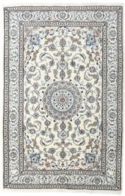 Nain Dywan 198X304 Orientalny Tkany Ręcznie Jasnoszary/Beżowy (Wełna, Persja/Iran)