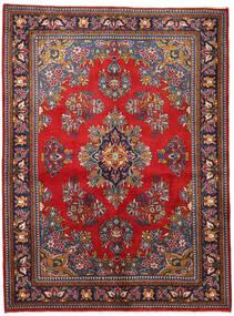 Wiss Dywan 165X225 Orientalny Tkany Ręcznie Ciemnofioletowy/Ciemnoczerwony (Wełna, Persja/Iran)