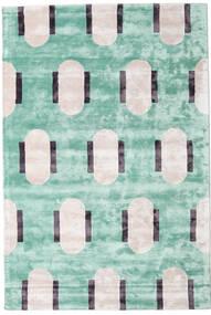 Catalpa - Zielony Dywan 160X230 Nowoczesny Pastel Zielony/Beżowy ( Indie)