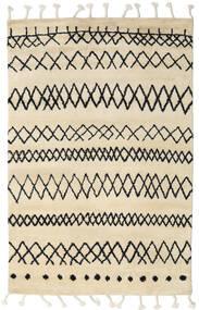 Beni Berber Dywan 275X370 Nowoczesny Tkany Ręcznie Beżowy/Ciemnoszary Duży (Wełna, Indie)