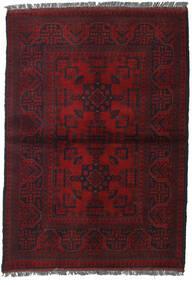 Afgan Khal Mohammadi Dywan 103X146 Orientalny Tkany Ręcznie Ciemnoczerwony (Wełna, Afganistan)
