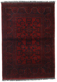 Afgan Khal Mohammadi Dywan 106X150 Orientalny Tkany Ręcznie Ciemnoczerwony (Wełna, Afganistan)