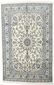 Nain Dywan 170X230 Orientalny Tkany Ręcznie Beżowy/Jasnoszary (Wełna, Persja/Iran)