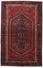 Hamadan Dywan 137X217 Orientalny Tkany Ręcznie Ciemnoczerwony/Ciemnobrązowy (Wełna, Persja/Iran)
