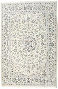 Nain Dywan 198X292 Orientalny Tkany Ręcznie Jasnoszary/Beżowy/Ciemnobeżowy (Wełna, Persja/Iran)