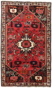 Sziraz Dywan 152X252 Orientalny Tkany Ręcznie Ciemnobrązowy/Rdzawy/Czerwony (Wełna, Persja/Iran)