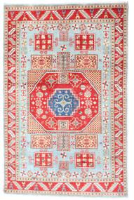 Kazak Dywan 117X181 Orientalny Tkany Ręcznie Beżowy/Biały/Creme (Wełna, Afganistan)