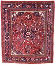 Zanjan Dywan 155X221 Orientalny Tkany Ręcznie Ciemnoczerwony (Wełna, Persja/Iran)