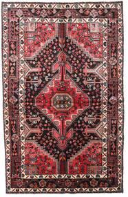 Toiserkan Dywan 152X241 Orientalny Tkany Ręcznie Ciemnobrązowy/Ciemnoczerwony (Wełna, Persja/Iran)