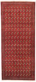 Beludż Dywan 114X268 Orientalny Tkany Ręcznie Chodnik Ciemnoczerwony/Rdzawy/Czerwony (Wełna, Persja/Iran)