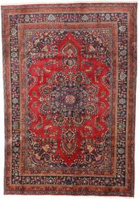 Hamadan Dywan 190X277 Orientalny Tkany Ręcznie Ciemnoczerwony/Ciemnobrązowy (Wełna, Persja/Iran)
