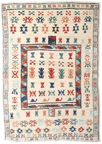 Moroccan Berber - Afghanistan Dywan 125X181 Nowoczesny Tkany Ręcznie Beżowy/Jasnoszary (Wełna, Afganistan)