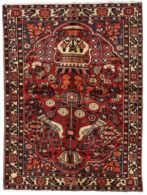 Baktjar Dywan 156X209 Orientalny Tkany Ręcznie Ciemnoczerwony/Ciemnobrązowy (Wełna, Persja/Iran)