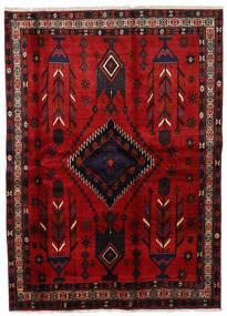 Afszar Dywan 177X246 Orientalny Tkany Ręcznie Ciemnoczerwony/Rdzawy/Czerwony (Wełna, Persja/Iran)