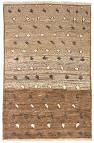 Moroccan Berber - Afghanistan Dywan 93X141 Nowoczesny Tkany Ręcznie Brązowy/Jasnobrązowy (Wełna, Afganistan)