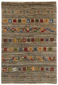 Gabbeh (Persja) Dywan 118X178 Nowoczesny Tkany Ręcznie Jasnoszary/Ciemnobrązowy (Wełna, Persja/Iran)