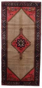 Koliai Dywan 92X198 Orientalny Tkany Ręcznie Chodnik Ciemnobrązowy/Brązowy (Wełna, Persja/Iran)