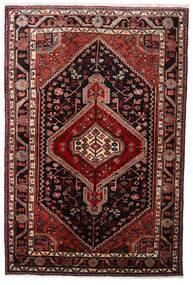 Hamadan Dywan 108X163 Orientalny Tkany Ręcznie Ciemnoczerwony (Wełna, Persja/Iran)
