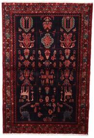 Asadabad Dywan 107X160 Orientalny Tkany Ręcznie Ciemnoczerwony (Wełna, Persja/Iran)