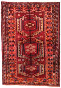 Lori Dywan 158X223 Orientalny Tkany Ręcznie Ciemnoczerwony/Rdzawy/Czerwony (Wełna, Persja/Iran)