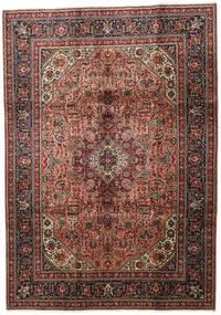 Tebriz Dywan 202X286 Orientalny Tkany Ręcznie Ciemnobrązowy/Jasnobrązowy (Wełna, Persja/Iran)