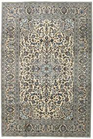 Keszan Dywan 196X292 Orientalny Tkany Ręcznie Ciemnoszary/Jasnoszary (Wełna, Persja/Iran)
