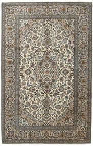 Keszan Dywan 194X303 Orientalny Tkany Ręcznie Ciemnoszary/Jasnoszary (Wełna, Persja/Iran)