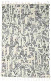 Barchi/Moroccan Berber - Indie Dywan 160X230 Nowoczesny Tkany Ręcznie Jasnoszary/Ciemnoszary/Biały/Creme (Wełna, Indie)