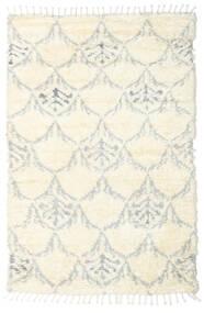 Barchi/Moroccan Berber - Indie Dywan 160X230 Nowoczesny Tkany Ręcznie Biały/Creme/Beżowy/Jasnoszary (Wełna, Indie)