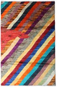 Moroccan Berber - Afghanistan Dywan 118X184 Nowoczesny Tkany Ręcznie Ciemnoczerwony/Ciemnofioletowy (Wełna, Afganistan)