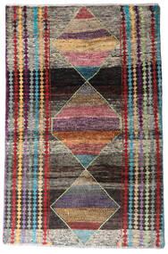 Moroccan Berber - Afghanistan Dywan 113X174 Nowoczesny Tkany Ręcznie Ciemnoszary/Jasnoszary (Wełna, Afganistan)