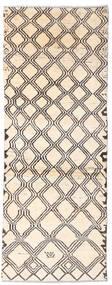 Moroccan Berber - Afghanistan Dywan 73X192 Nowoczesny Tkany Ręcznie Chodnik Beżowy/Jasnoszary (Wełna, Afganistan)