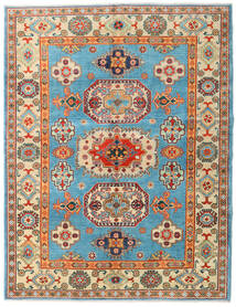 Kazak Dywan 151X196 Orientalny Tkany Ręcznie Ciemnobeżowy/Ciemnobrązowy (Wełna, Afganistan)