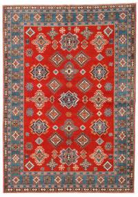 Kazak Dywan 169X238 Orientalny Tkany Ręcznie Rdzawy/Czerwony/Jasnobrązowy (Wełna, Afganistan)
